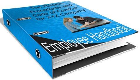 HR Employee Handbook Image