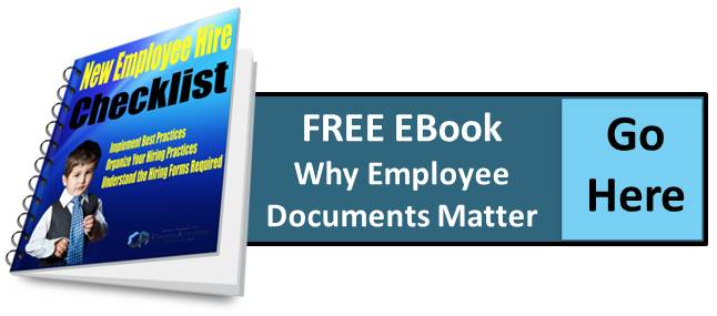Why Employee Documents Matter New Employee Hire Checklist EBook